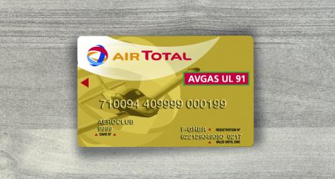French card TOTAL Aviation